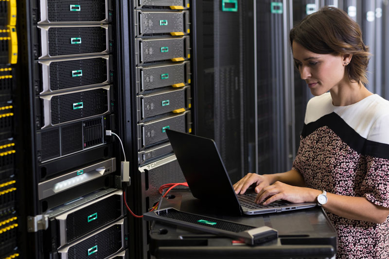 managing the server in a datacenter